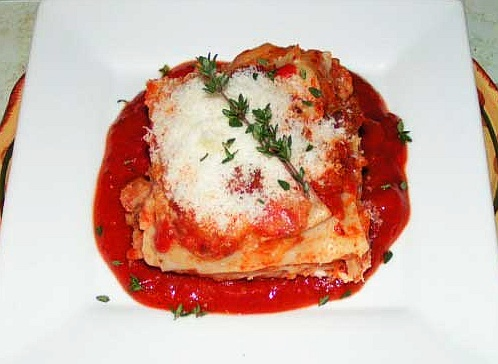 Lasagna Bolognese recipe with picture