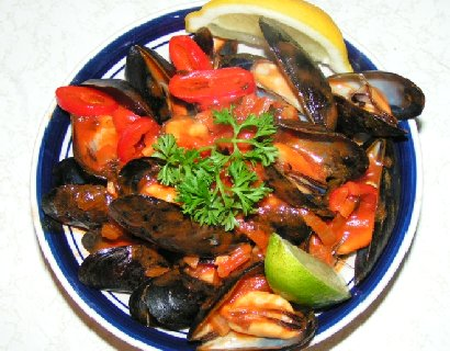 Mussels - Cozze marinara picture