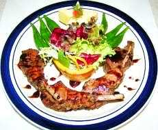 Gourmet recipe for Rack of Lamb au Naturel
