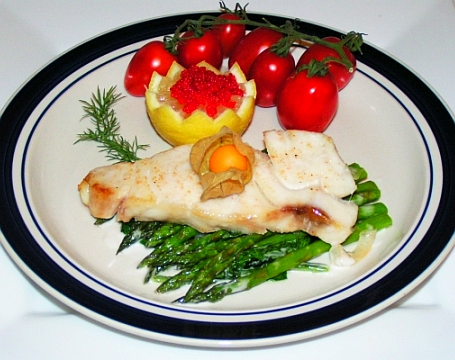 Sea Bass recipe with picture