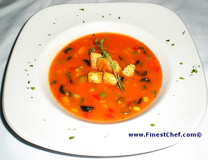 Gazpacho soup picture