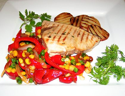 Grilled swordfish picture