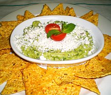 Mexican guacamole dip recipe