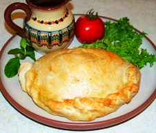Baked calzone