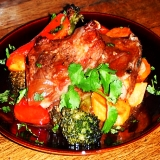 Baked lamb chops recipe