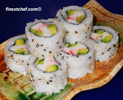 California sushi roll picture