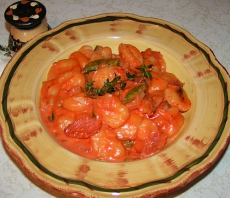 Gnocchi with Italian rose sauce