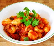 Gnocchi pasta sauce recipe with meat