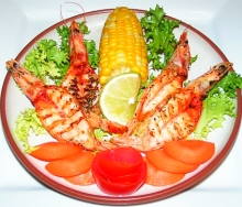 Grilled langoustine recipe