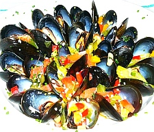 Mussels recipe picture