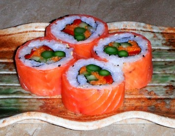 Sushi roll picture