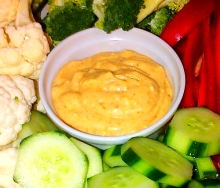 Veggie dip recipe with mayo