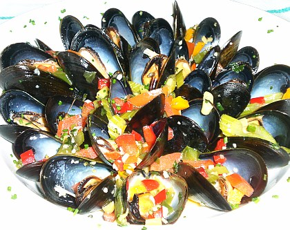 Mussels recipe with picture