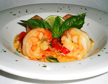 Shrimp scampi gourmet recipe