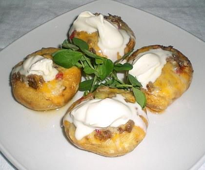 Recipes stuffed mushrooms